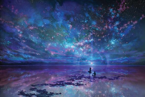 ocean__sky__stars__and_you_by_muddymelly-d4bg1ub