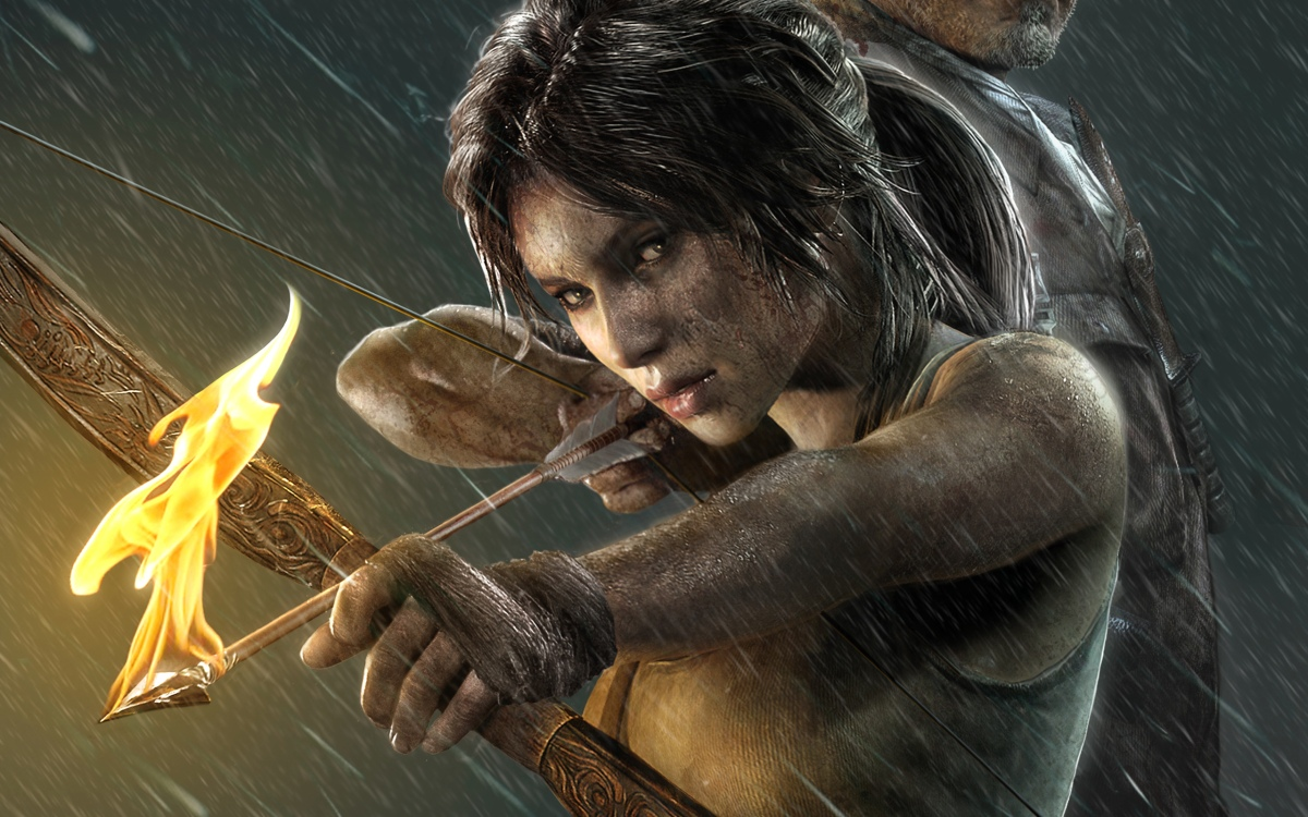 coming soon... TOMB RAIDER reboot movie