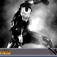 NOIR 2.0 - IRON MAN: Black & White