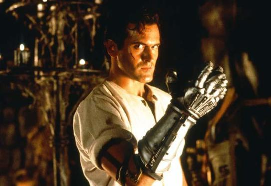 Army of Darkness (1993) Directed by Sam Raimi Shown: Bruce Campbell