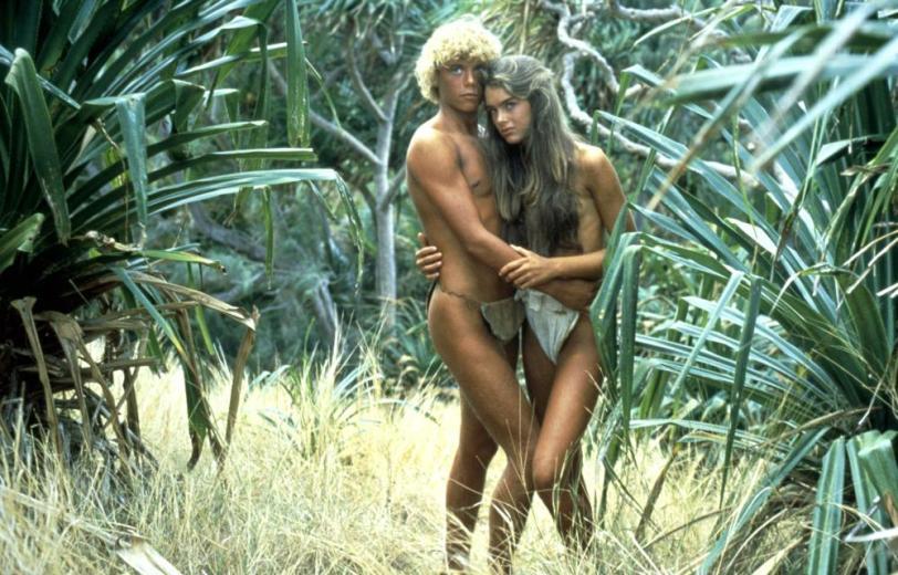 THE BLUE LAGOON, Christopher Atkins, Brooke Shields, 1980, (c) Columbia