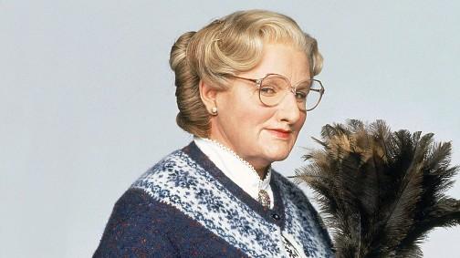 FŸr seine Rolle als Mrs. Doubtfire erhielt Robin Williams ein Golden Globe als bester Hauptdarsteller.
