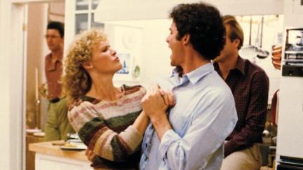 THE BIG CHILL, Jeff Goldblum, Glenn Close, Kevin Kline, William Hurt, 1983