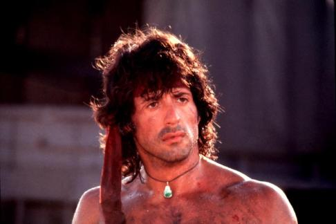 RAMBO: FIRST BLOOD PART II, Sylvester Stallone, 1985. ©TriStar Pictures