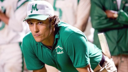 """MATTHEW McCONAUGHEY portrays Jack Lengyel, the coach tasked with rebuilding Marshall University's football program after a tragic plane crash in Warner Bros. Pictures' and Legendary Pictures' inspirational drama, """"We Are Marshall,"""" distributed by Warner Bros. Pictures. PHOTOGRAPHS TO BE USED SOLELY FOR ADVERTISING, PROMOTION, PUBLICITY OR REVIEWS OF THIS SPECIFIC MOTION PICTURE AND TO REMAIN THE PROPERTY OF THE STUDIO. NOT FOR SALE OR REDISTRIBUTION."""