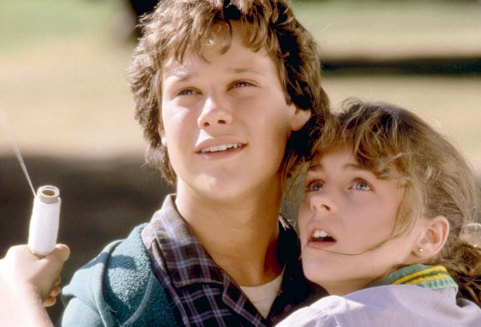 THE BOY WHO COULD FLY, Jay Underwood, Lucy Deakins, 1986, TM and Copyright (c)20th Century Fox Film Corp.