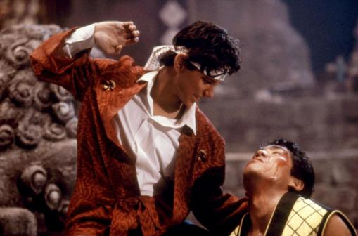 KARATE KID PART II, Ralph Macchio, Yuji Okumoto, 1986, (c)Columbia Pictures
