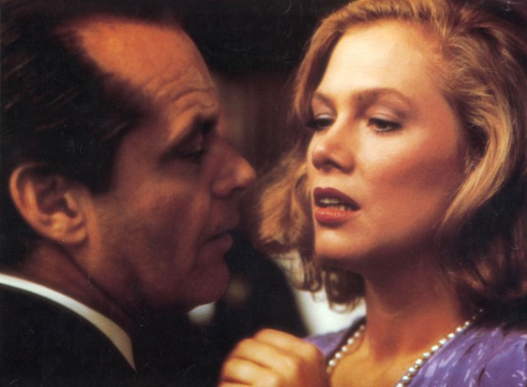 Jack Nicholson , Kathleen Turner Directed by John Huston