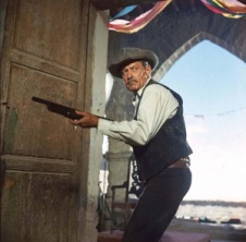 The Wild Bunch (1969) Directed by Sam Peckinpah Shown: William Holden (as Pike Bishop)