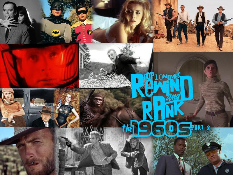 Top ten movies of the 60s