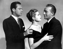 THE COUNTRY GIRL, William Holden, Grace Kelly, Bing Crosby, 1954