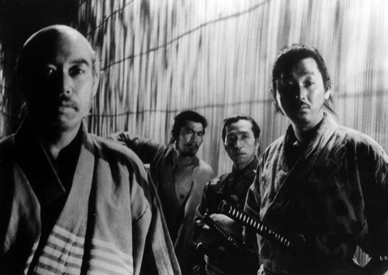 toshiro-mifune-minoru-chiaki-seiji-miyaguchi-and-takashi-shimura-in-seven-samurai-1954-large-picture