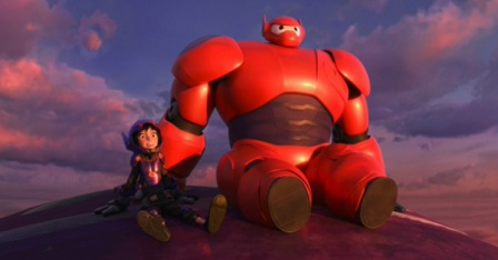 big-hero-6-2014-movie-review-baymax-hiro-blimp-sunset-armor-review