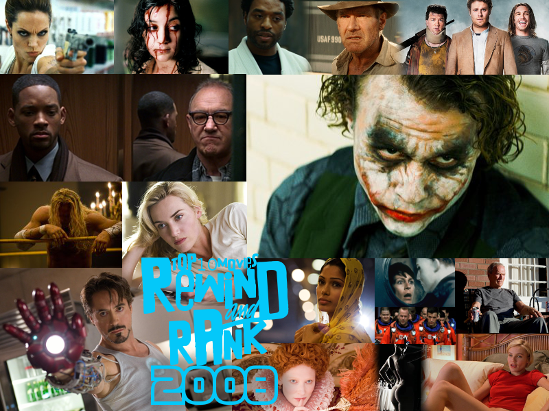 REWIND & RANK: TOP 10 Movies of 2008